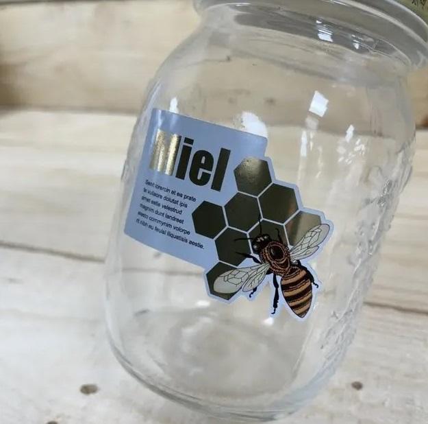etiqueta para miel